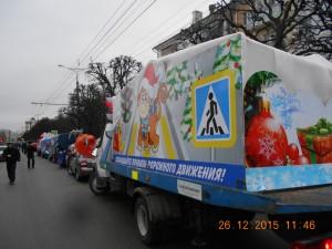Новогоднее авто шоу 015